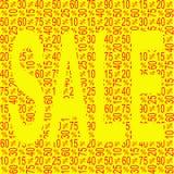 Πώληση έκπτωσης ελεύθερη απεικόνιση δικαιώματος
