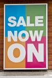 πώληση αφισών Στοκ φωτογραφία με δικαίωμα ελεύθερης χρήσης