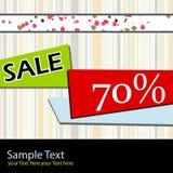 πώληση αφισών διανυσματική απεικόνιση