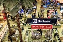 Πώληση εκκαθάρισης Electrolux Στοκ Φωτογραφία