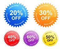 πώληση ετικετών Στοκ εικόνες με δικαίωμα ελεύθερης χρήσης