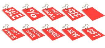 πώληση ετικετών Στοκ φωτογραφίες με δικαίωμα ελεύθερης χρήσης