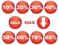 πώληση κουμπιών Στοκ εικόνα με δικαίωμα ελεύθερης χρήσης