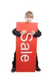πώληση παιδιών Στοκ Φωτογραφίες