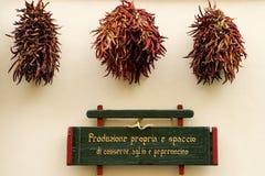 πώληση πιπεριών Στοκ Φωτογραφίες