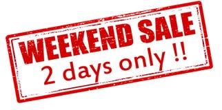 Πώληση Σαββατοκύριακου δύο ημέρες μόνο ελεύθερη απεικόνιση δικαιώματος