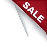 πώληση σελίδων γωνιών διανυσματική απεικόνιση