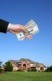 πώληση σπιτιών στοκ εικόνα