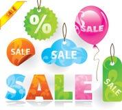πώληση στοιχείων σχεδίο&upsilo Στοκ Φωτογραφία