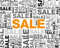 Πώληση backgroun Στοκ Εικόνες