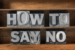 Πώς να πει το αριθ. Στοκ φωτογραφία με δικαίωμα ελεύθερης χρήσης