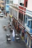 Πώς οι άνθρωποι ζουν στο Las Palmas στοκ εικόνα