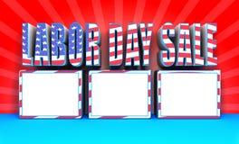 Πώληση 002 Εργατικής Ημέρας Στοκ Εικόνες