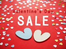 Πώληση ημέρας βαλεντίνων Στοκ εικόνες με δικαίωμα ελεύθερης χρήσης