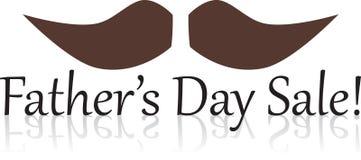 Πώληση ημέρας πατέρα Στοκ εικόνες με δικαίωμα ελεύθερης χρήσης