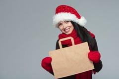 Πώληση διακοπών, αγορές, έννοια Χριστουγέννων Στοκ Φωτογραφία