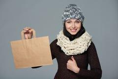 Πώληση διακοπών, αγορές, έννοια Χριστουγέννων Στοκ φωτογραφίες με δικαίωμα ελεύθερης χρήσης