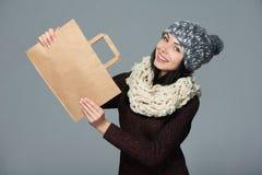 Πώληση διακοπών, αγορές, έννοια Χριστουγέννων Στοκ Εικόνες