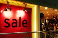 Πώληση, κατάστημα ενδυμασίας μόδας Στοκ Εικόνες