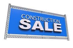 Πώληση κατασκευής που απομονώνεται Στοκ εικόνες με δικαίωμα ελεύθερης χρήσης