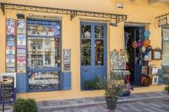 Πώληση καταστημάτων που ανοίγουν για τους επισκέπτες στοκ εικόνες