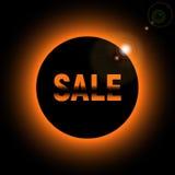 Πώληση με το έντονο φως φω'των από τον ήλιο Στοκ φωτογραφία με δικαίωμα ελεύθερης χρήσης