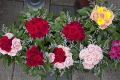 πώληση λουλουδιών Στοκ Φωτογραφία