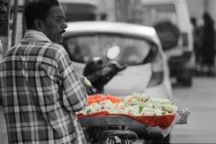 πώληση λουλουδιών Στοκ Φωτογραφίες