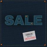 Πώληση τζιν Στοκ φωτογραφία με δικαίωμα ελεύθερης χρήσης