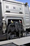Πώληση του νέου φορτηγού Στοκ φωτογραφία με δικαίωμα ελεύθερης χρήσης
