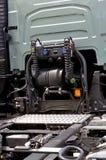 Πώληση του νέου φορτηγού Στοκ εικόνα με δικαίωμα ελεύθερης χρήσης