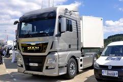 Πώληση του νέου φορτηγού Στοκ Εικόνα