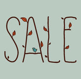 Πώληση φθινοπώρου Στοκ Εικόνες