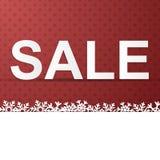 Πώληση χειμερινών διακοπών Στοκ εικόνα με δικαίωμα ελεύθερης χρήσης