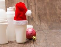 Πώληση Χριστουγέννων ή έννοια δώρων με το διάστημα αντιγράφων Στοκ φωτογραφία με δικαίωμα ελεύθερης χρήσης