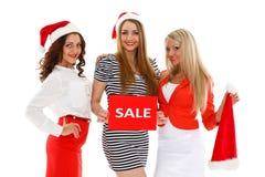 Πώληση Χριστουγέννων. Στοκ Φωτογραφίες
