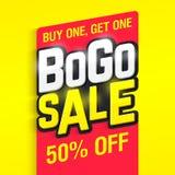 Πώληση Bogo απεικόνιση αποθεμάτων