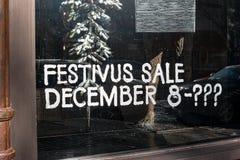 Πώληση Festivus στοκ εικόνα