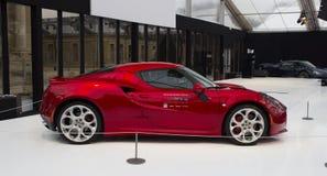 Πλάγια όψη έννοιας της Alfa Romeo Στοκ φωτογραφία με δικαίωμα ελεύθερης χρήσης