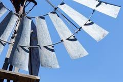 Πλάγια όψη ανεμόμυλων σε Cradock Στοκ φωτογραφία με δικαίωμα ελεύθερης χρήσης