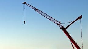 Πλάγια όψη γερανών Στοκ φωτογραφία με δικαίωμα ελεύθερης χρήσης