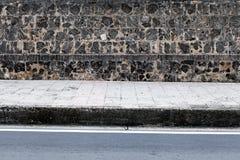 Πλάγια όψη σχετικά με την οδό Στοκ εικόνες με δικαίωμα ελεύθερης χρήσης