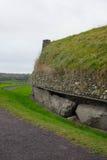 Πλάγια όψη Newgrange Στοκ Εικόνα