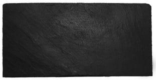 Πλάκα που απομονώνεται μαύρη Στοκ φωτογραφία με δικαίωμα ελεύθερης χρήσης