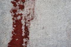 Πλάκα υλικού κατασκευής σκεπής με τους ραγισμένους λεκέδες χρωμάτων Στοκ εικόνες με δικαίωμα ελεύθερης χρήσης