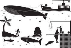 Πλάσματα θάλασσας Στοκ Φωτογραφίες