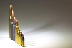 Πλάτη πυρομαχικών Blurr Στοκ Φωτογραφία