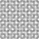 Πλέγμα από τις κυματιστές γραμμές Στοκ φωτογραφίες με δικαίωμα ελεύθερης χρήσης