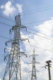 Πλέγμα ηλεκτρικής δύναμης Στοκ Φωτογραφίες