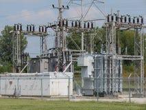 Πλέγμα ηλεκτρικής δύναμης Στοκ Εικόνες
